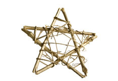 De ster van Kerstmis Royalty-vrije Stock Foto's