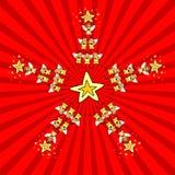 De Ster van Kerstmis van jonge geitjes vector illustratie