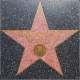De ster van Mark Serrurier Moviola ` s op Hollywood-Gang van Bekendheid Royalty-vrije Stock Foto