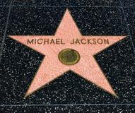 De Ster van Michael Jackson ` s, Hollywood-Gang van Bekendheid - 11 Augustus, 2017 - Hollywood-Boulevard, Los Angeles, Californië Royalty-vrije Stock Afbeeldingen
