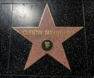 De Ster van Quentin Tarantino ` s, Hollywood-Gang van Bekendheid - 11 Augustus, 2017 - Hollywood-Boulevard, Los Angeles, Californ stock afbeeldingen
