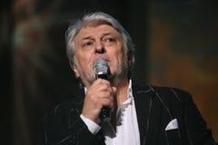 De ster van Russische en Sovjetmuziek, populair muziekidool, eerde de mens, miljonair, auteur, zanger, componist Vyacheslav Dobry Royalty-vrije Stock Afbeelding