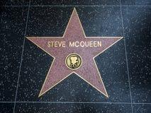 De Ster van Steve McQueen ` s, Hollywood-Gang van Bekendheid - 11 Augustus, 2017 - Hollywood-Boulevard, Los Angeles, Californië,  Royalty-vrije Stock Foto's