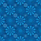 De ster verbindt symmetrie blauw naadloos patroon royalty-vrije illustratie