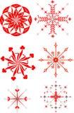 De sterillustratie van Kerstmis Stock Fotografie