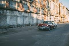 In de Sterleider van motie 1957 Pontiac Stock Foto's