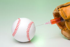 De Steroïden van het honkbal Stock Afbeelding