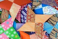 De Sterren van de origami Stock Afbeeldingen