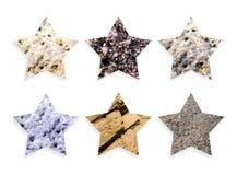 De sterren van de rots Stock Foto