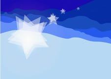 De sterren van de winter royalty-vrije illustratie