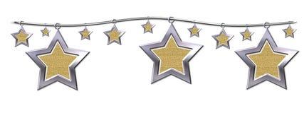 De sterren van het metaal Royalty-vrije Stock Foto