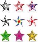 De sterren van tekens Stock Fotografie
