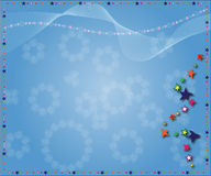 De sterrenachtergrond van Kerstmis Royalty-vrije Stock Fotografie