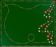 De sterrenachtergrond van Kerstmis Stock Fotografie