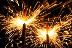 De sterretjes van de viering Stock Foto