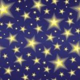 De sterrige Achtergrond van de Nacht Stock Foto's