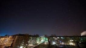 De sterrige tijdspanne van de hemeltijd stock videobeelden