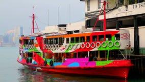 De sterveerboot van Hongkong stock footage