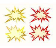 De stervorm van Reclame, vector Stock Foto's