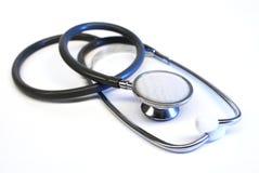 De stethoscoop van de arts stock foto's