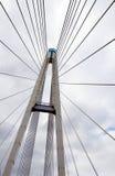 De steun van de brug Stock Foto's