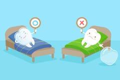 De steun van de tandslijtage vector illustratie