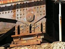 De Steun van het Spoor van de trein voor Schraag Royalty-vrije Stock Foto