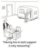 De steun van technologie Royalty-vrije Stock Fotografie