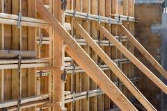De Steunen van de bouw Stock Foto