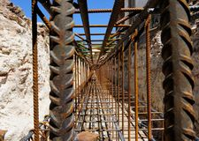 De stichtingsstraal van het anker Stock Afbeelding