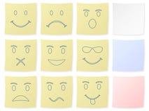 De sticker van de emotie vector illustratie