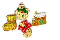 De sticker van de Kerstmisijskast Stock Fotografie