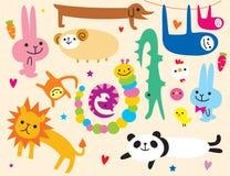 De sticker van dieren Royalty-vrije Stock Foto