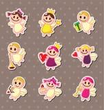 De stickers van de engel Royalty-vrije Stock Foto
