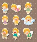 De stickers van de engel Royalty-vrije Stock Afbeelding