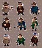 De stickers van de maffia Royalty-vrije Stock Foto's