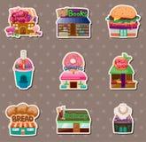 De stickers van de opslag Royalty-vrije Stock Foto's