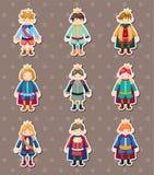 De stickers van de prins Stock Foto's