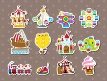 De stickers van de speelplaats Stock Fotografie