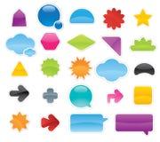 De Stickers van etiketten Royalty-vrije Stock Afbeelding