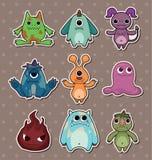 De stickers van het monster Royalty-vrije Stock Fotografie