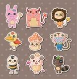 De stickers van het monster Royalty-vrije Stock Afbeelding
