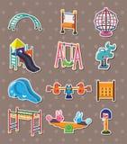 De stickers van het park royalty-vrije illustratie