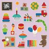De stickers van het stuk speelgoed Royalty-vrije Stock Fotografie