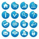 De stickers van het Web Royalty-vrije Stock Afbeelding