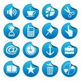 De stickers van het Web. Deel drie Stock Foto