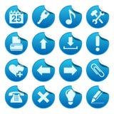De stickers van het Web. Deel twee Stock Afbeelding