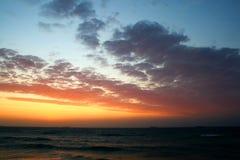 De stijging van de zon stock fotografie