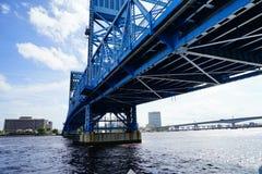De stijging van de het strandzon van Jacksonville stock foto's