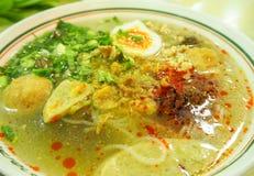 De stijl dichte omhooggaand van het Jubbui Thaise en Vietnamese voedsel Royalty-vrije Stock Afbeeldingen